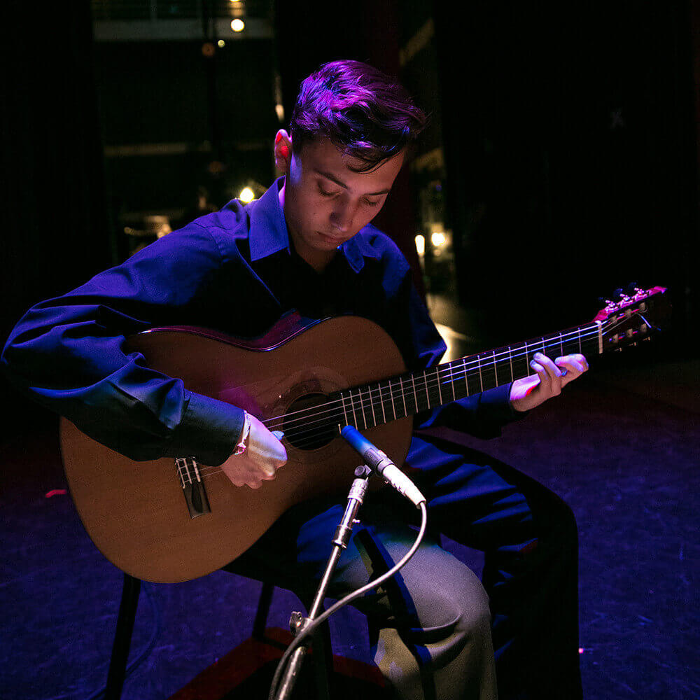 <p>About the Guitar Program</p>