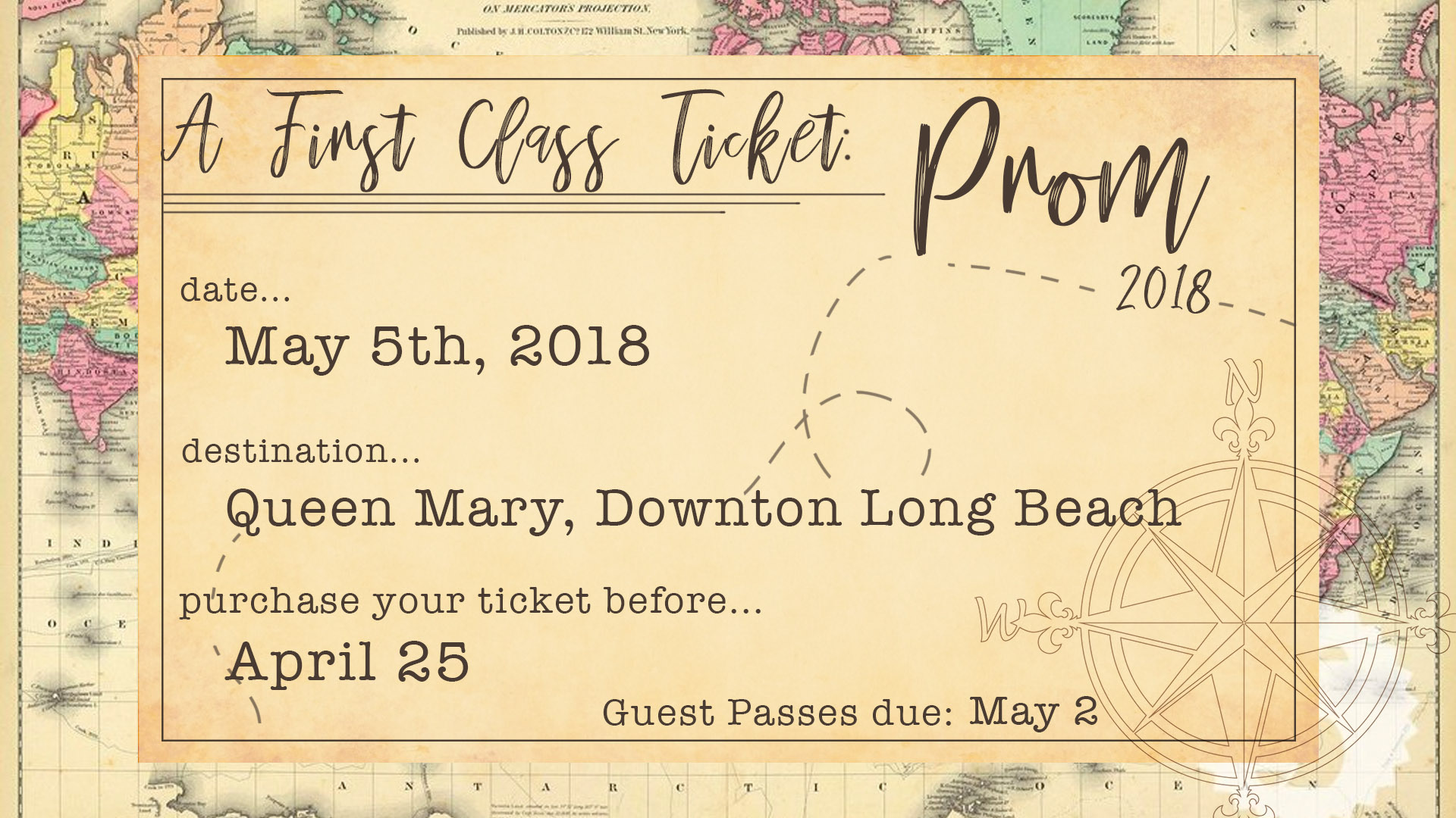 A First Class Ticket: Prom 2018