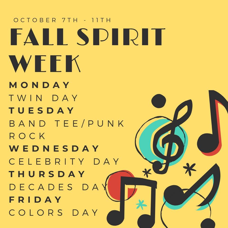 Fall Spirit Week