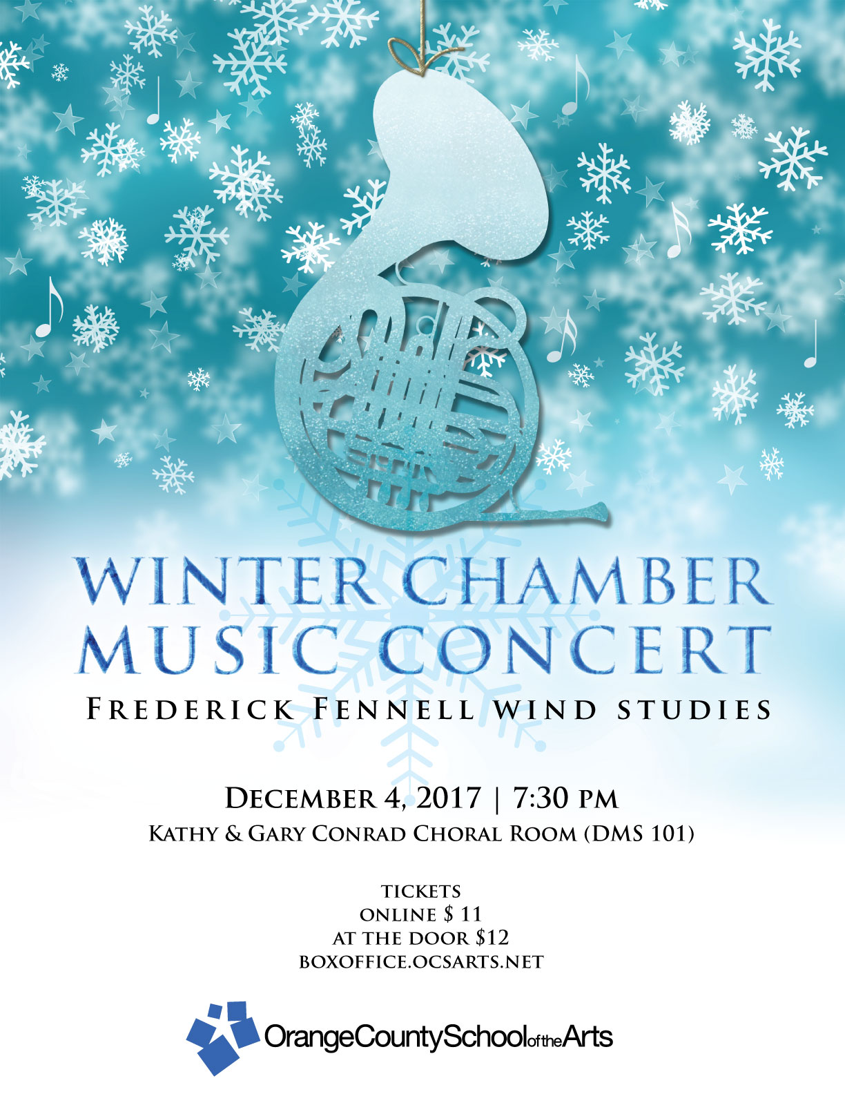 Save the Date: Our Winter Chamber Music Concert is coming up!